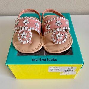Baby Girl Jack Rogers size 2💕